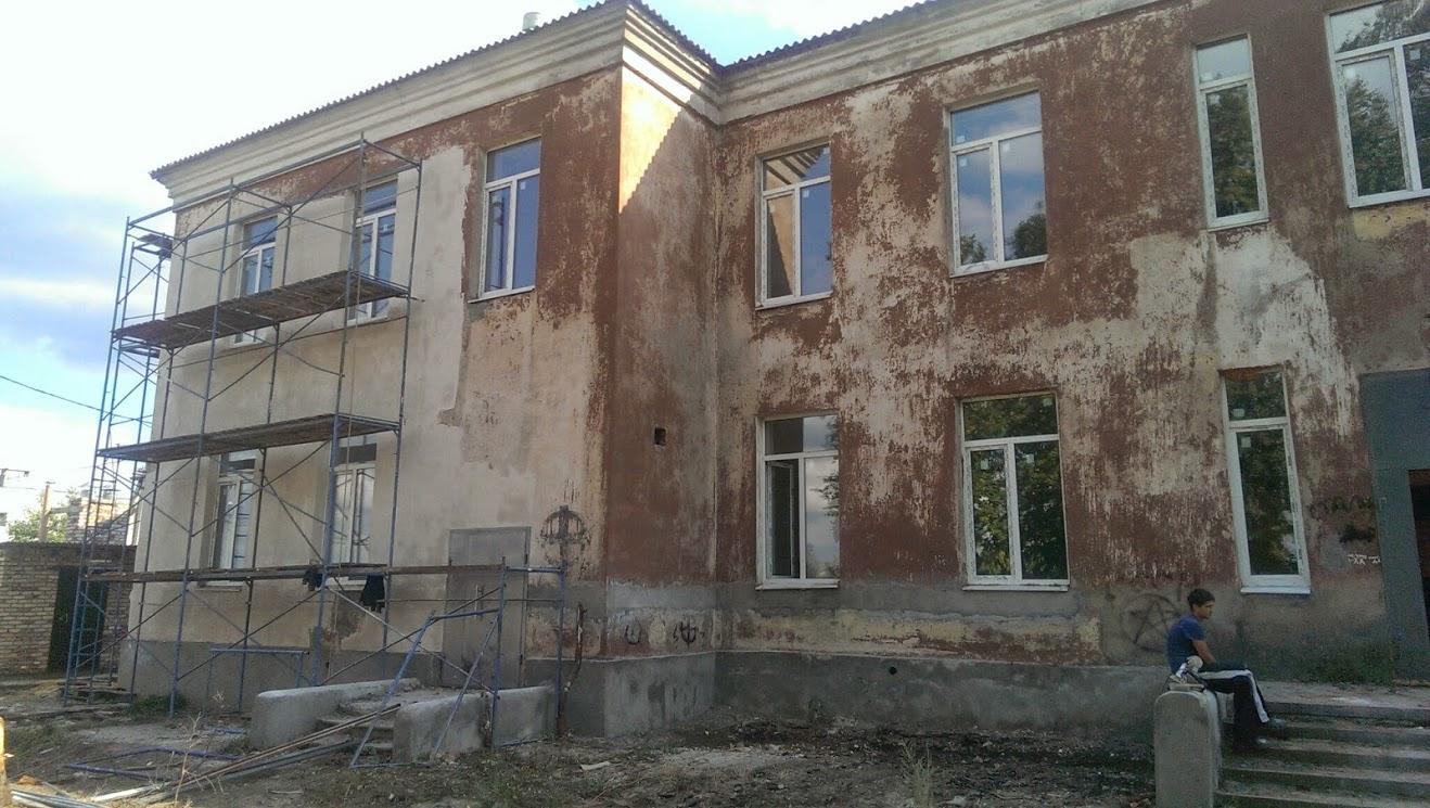Строительство дома престарелых