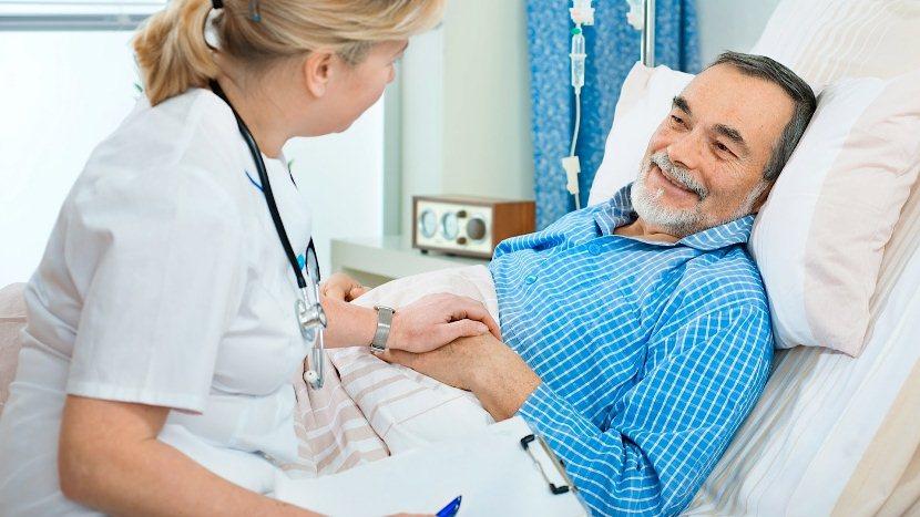 Хороший способ снять боль у пациента