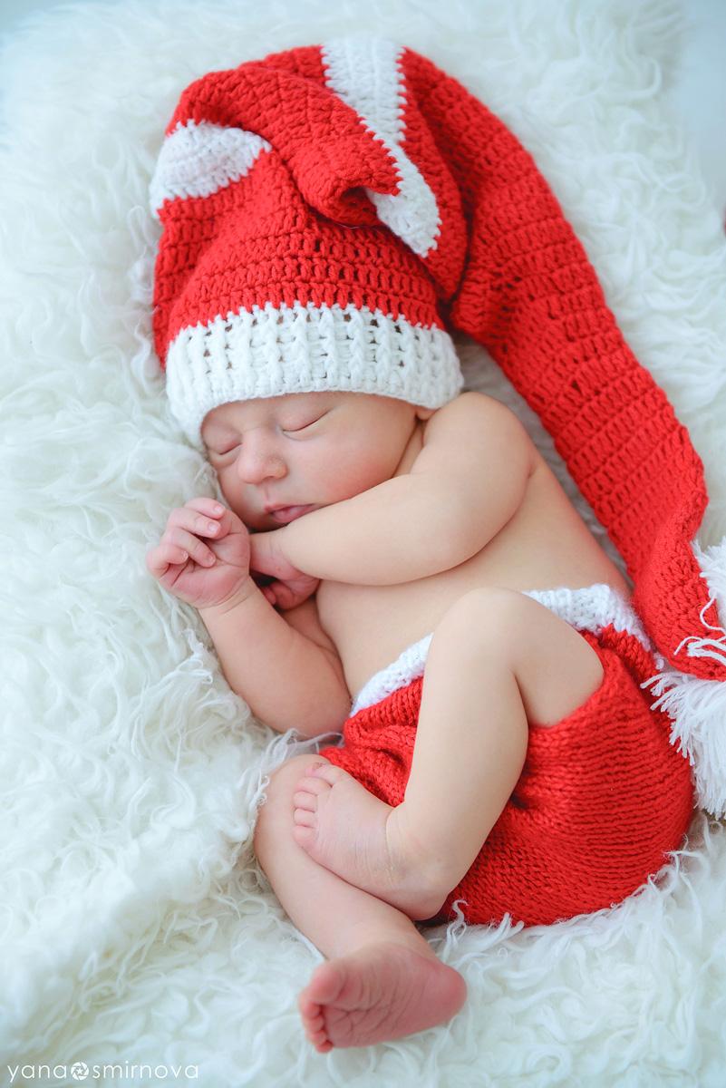 заказ фотосессии новорожденного в фотостудии
