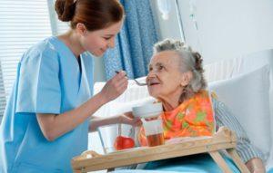 сиделка с медицинским образованием для пожилого человека в Алексине
