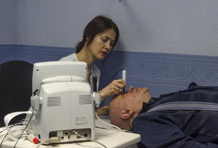 Диагностика зрения в клинике