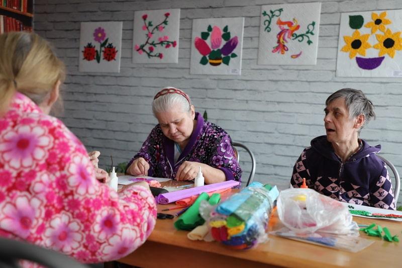 Новомосковск. Дом престарелых