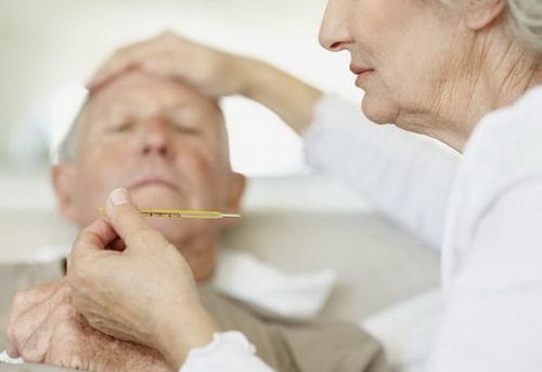 Температура при пролежнях у больных