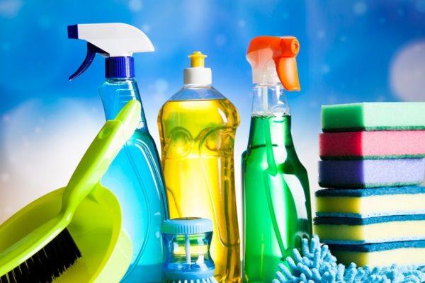 Закуплены моющие средства для домов престарелых